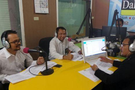 Menjadi narasumber dalam acara Talk Show tentang Amnesti Pajak di Radio Dakta Bekasi 107 FM tanggal 29 Juli 2016.