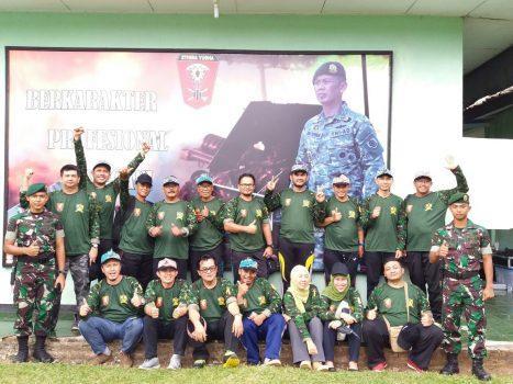 Apel Siaga Pegawai Kanwil DJP Jawa Barat II - Resimen Artileri Medan 2/Stira Yudha/ Divisi Infanteri /Kostrad Purwakarta