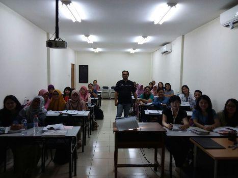 Suasana Kelas Pembekalan Materi Perpajakan Bagi Para Profesional Muda Generasi Bangsa Taat Pajak (Angkatan 30 – President Tax Center)