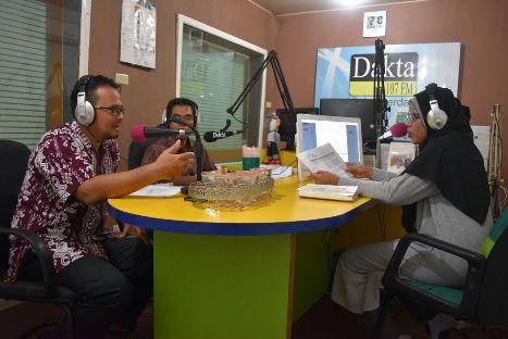 Menjadi narasumber dalam acara Talkshow Radio tentang Amnesti Pajak 2016 di Radio Dakta Bekasi 107 FM tanggal 13 September 2016.