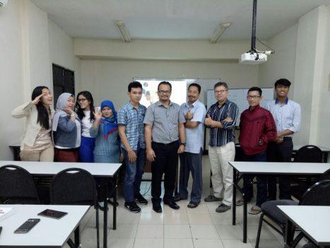 Suasana Kelas Pembekalan Materi Perpajakan Bagi Para Profesional Muda Generasi Bangsa Taat Pajak (Angkatan 29 – President Tax Center)