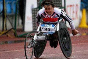 Tanni Grey-Thompson :  Atlet Kursi Roda