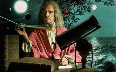 Sir Isaac Newton : Dikarantina dan Menemukan Teori Gravitasi