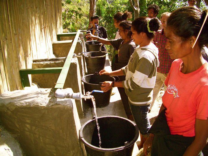 Andre Graff : Penggali Sumur di Pulau Sumba