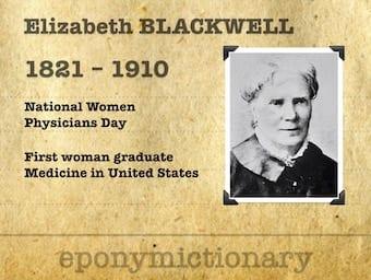 Elizabeth Blackwell : She Refused