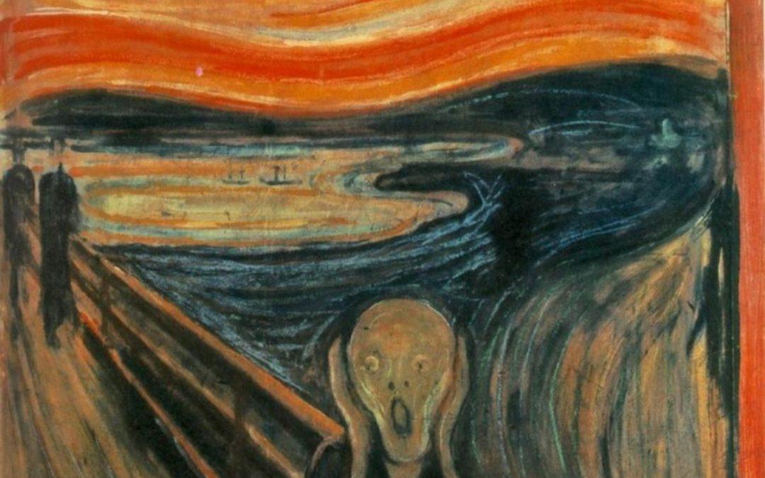 Edvard Munch : Lukisan The Scream